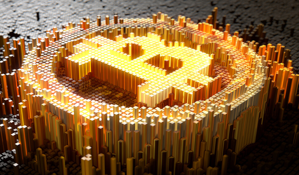 Rapid growth of bitcoin on the market